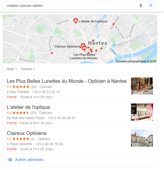 optimisation seo local